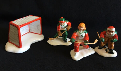 COLD WEATHER SPORTS # 54100  RETIRED SNOW VILLAGE ACCESSORY Dept 56 HARD TO FIND