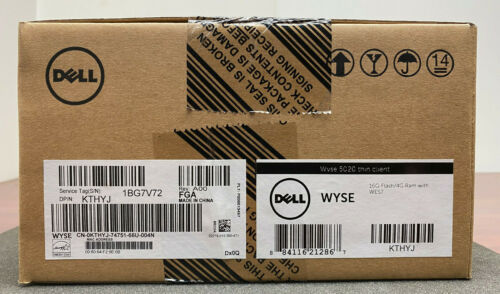 NEW DELL 5020 KTHYJTHIN CLIENT 16GB FLASH 4GB RAM WITH WES7