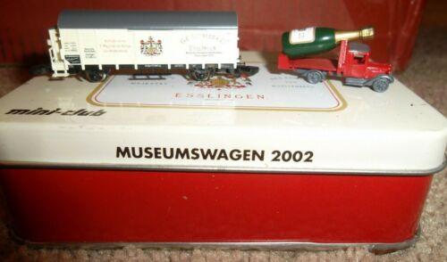 Z Scale Marklin 2002 Museumswagen Kessler
