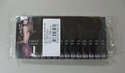 12 Euphoria CK Calvin Klein 1.2ml .04fl oz PERFUME SPRAY SAMPLE New Sealed EDP