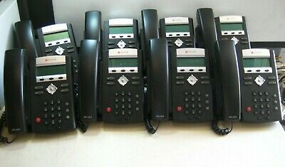 Lot Of 8 Polycom Soundpoint Ip 335 Business Phones