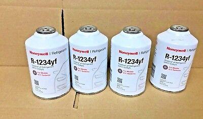 R-1234YF R1234yf Refrigerant Honeywell, (4) FOUR 8 oz. Cans, Solstice® yf