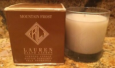 Ralph Lauren Mountain Frost Scented Candle 7.2 (Frost Scented Candle)