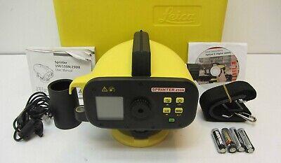 Brand New Leica Sprinter 250m Digital Level For Surveying