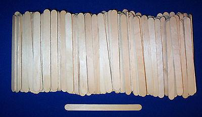 200 Popsicle Sticks 4-1/2x 3/8 Wood Craft Sticks Parrot Bird Toy Parts