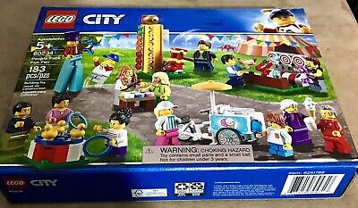LEGO CITY Minifig Pack (60234) - Fun Fair New. Sealed