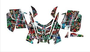POLARIS-GRAPHIC-RUSH-PRO-RMK-600-700-800-ASSAULT-121-144-155-163-grafitti-WRAP