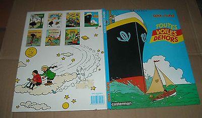 QUICK ET FLUPKE TOUTES VOILES DEHORS Hergé (auteur Tintin )