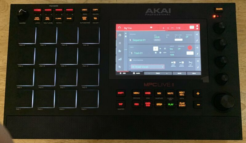 AKAI Professional MPC Live II super combo 1TB SSD  Mpc and Maschine expansions