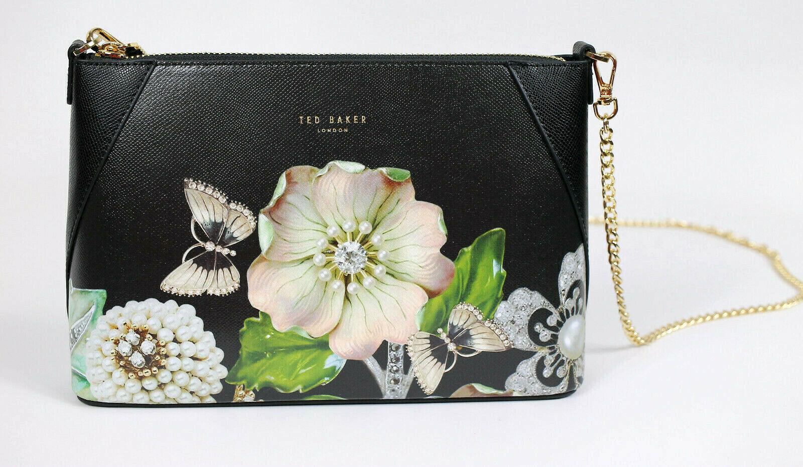 london alyssa gem gardens leather crossbody bag
