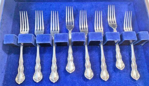 Vintage Wallace Irving/Old Atlanta Sterling Silver Dinner Fork NO MONO