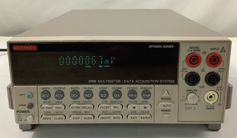Keithley 2700 Digital Multimeter Data Acquistion System