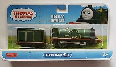THOMAS & FRIENDS - EMILY Motorized Toy Train NEW SEALED FREE SHIPPING