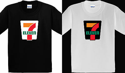 7 Eleven Gas Station Store New Design Black White T Shirt Size S   3 Xl T30