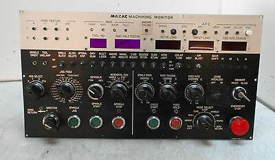 Mazak Vqc-1540 Machining Monitor Used Warranty