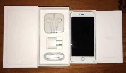 iPhone 6 Plus 128 GB Silver Immaculate Condition Unlocked Morwell Latrobe Valley Preview
