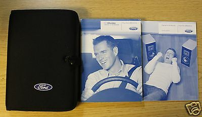 FORD MONDEO 2007-2013 HANDBOOK OWNERS MANUAL WALLET  WITH AUDIO GUIDE