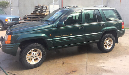 JEEP GRAND CHEROKEE LIMITED 4x4 1996