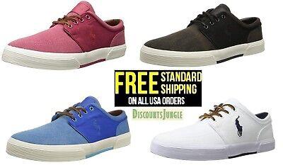 - Polo Ralph Lauren Men's Classic Faxon Low Pumice Canvas Shoes Sneaker SIZE 7-13