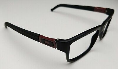 Oakley Marshal OX8034-1053 Satin Black/Cardinal Men's Eyeglasses 53/17 143