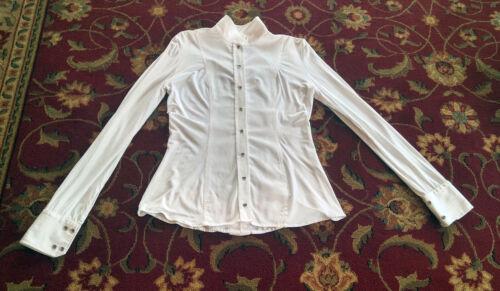 Le Fash, show shirt, white, L,  $200 magnetic collar
