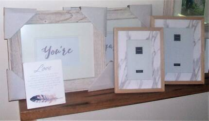Photo frames: Youre Engaged/Love OR Black & White pair
