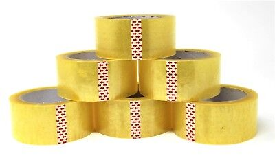 Heavy Duty Bopp Packing Tape- 2x 110 Yards1 6 12 24 36 Pack
