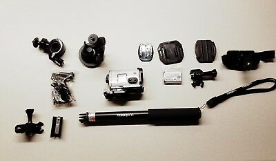 SONY FDR-X3000 Action Camera HD - with attachments, new battery, waterproof case for sale  Farmington