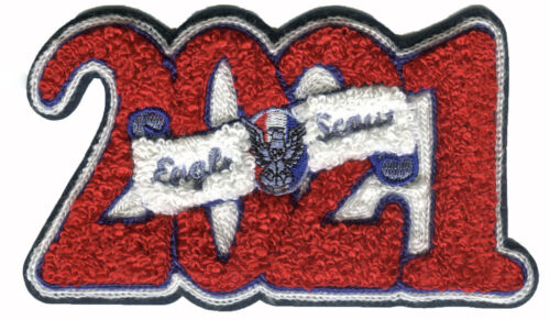 Eagle Class of 2021 Chenillie Patch