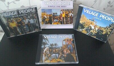 Village People - Simply the Best - 3 CD BOX - very (Simply The Best Disco)