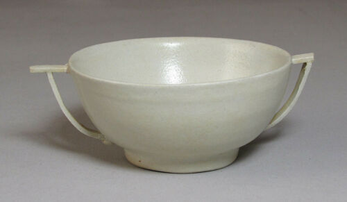 A Fine/Old Korean White Glazed Two Handle (兩耳盏) Porcelain Cup