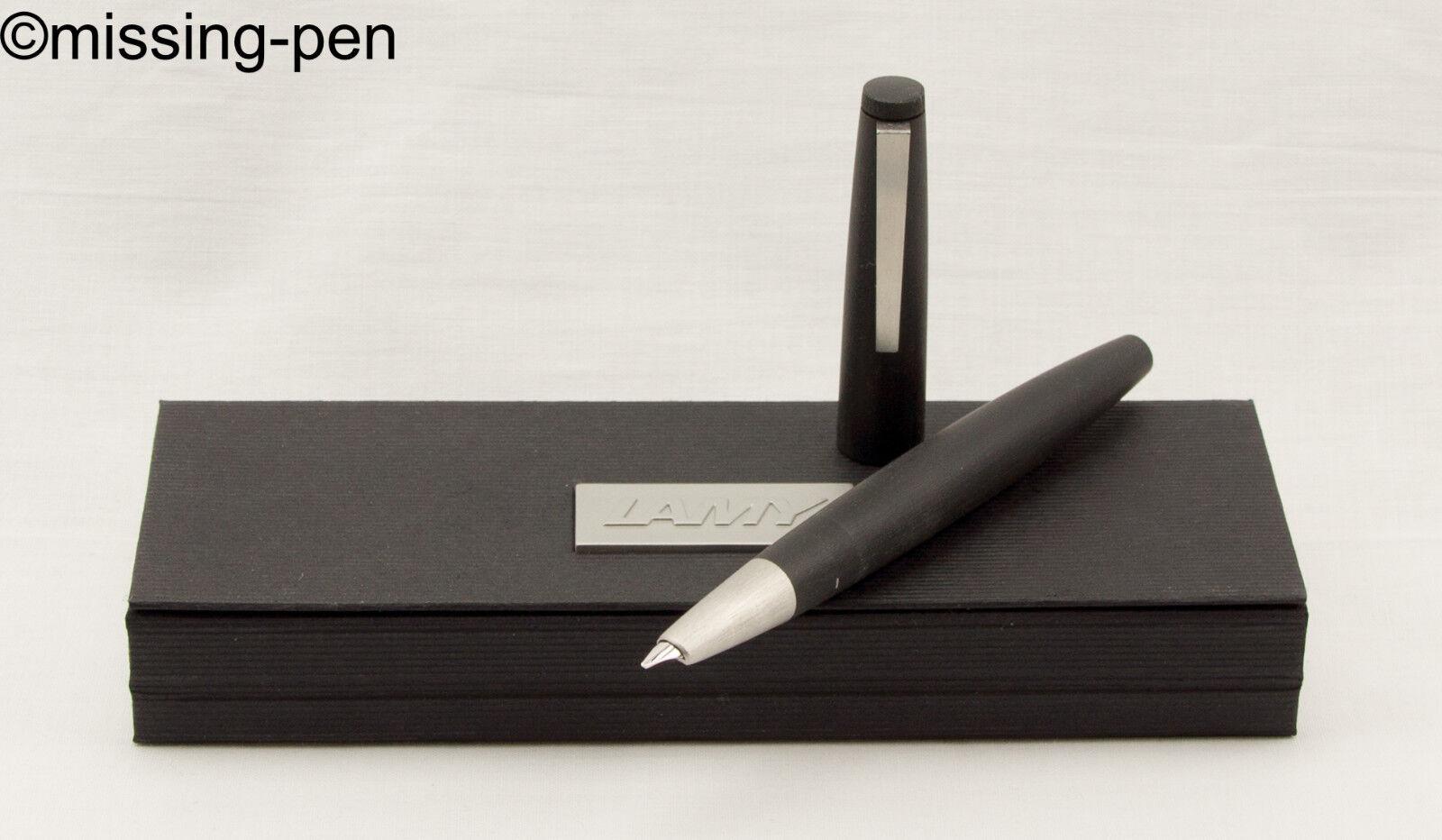 LAMY 2000 Piston Fountain Pen - in Black model 01