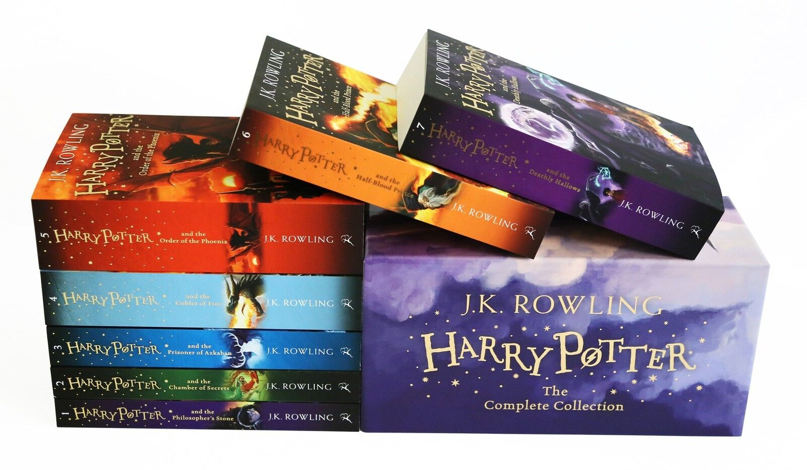The Complete Harry Potter 7 Books Collection Boxed Gift Set NEW J. K. Rowling