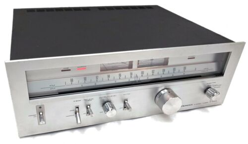 Vintage Pioneer TX-8500II Silver Face AM/FM Stereo Analogue Tuner - Tested READ