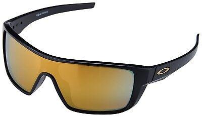 Oakley Straightback Sunglasses OO9411-0227 Polished Black   24K Iridium Lens NIB