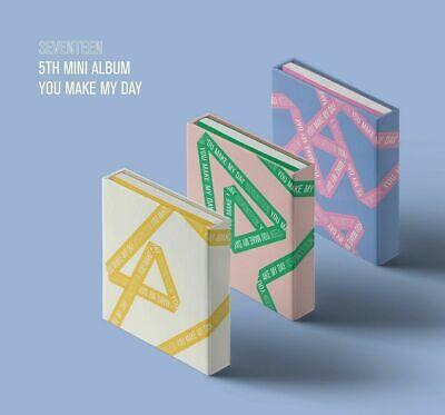 SEVENTEEN - YOU MAKE MY DAY [Random ver.] CD+Photocards+Photobook+Tracking No.