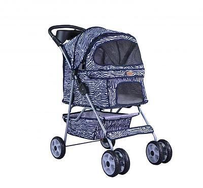 BestPet All color 4 Wheels Pet Dog Cat Stroller