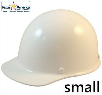 Msa Skullgard Small Cap Style With Ratchet Suspension - White