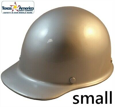 Msa Skullgard Small Cap Style With Ratchet Suspension - Silver