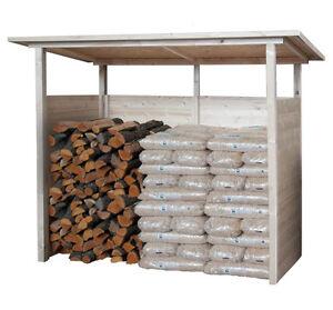 Legnaia da giardino 256x128 tettoia legno pensilina copertura per esterno ebay - Copertura lavatrice da esterno ...