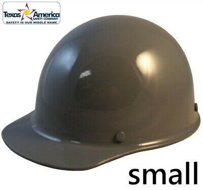 Msa Skullgard Small Cap Style With Ratchet Suspension - Gray