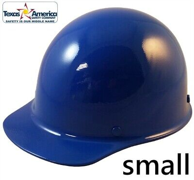 Msa Skullgard Small Cap Style With Ratchet Suspension - Blue