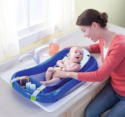 Toddler Bath Tub Baby Seat Sling Newborn Bathing Soft Pad Support Shower Infant
