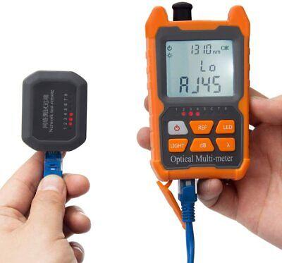 Optical Power Meter Fcscst Universal Interface 8 Standdard Wavelengths Test