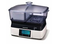 Morphy Richards 48775 Intellisteam Compact Food Steamer 6L - £30