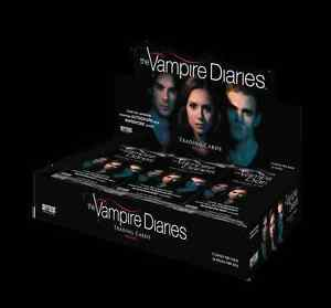 The Vampire Diaries Series 1 One Factory Sealed Trading Card Box