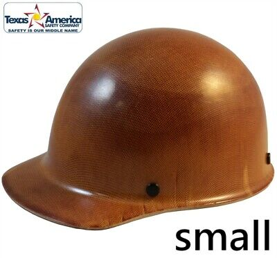 Msa Skullgard Small Cap Style With Ratchet Suspension - Natural Tan