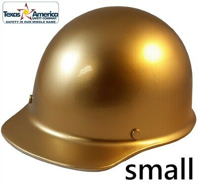 Msa Skullgard Small Cap Style With Ratchet Suspension - Gold