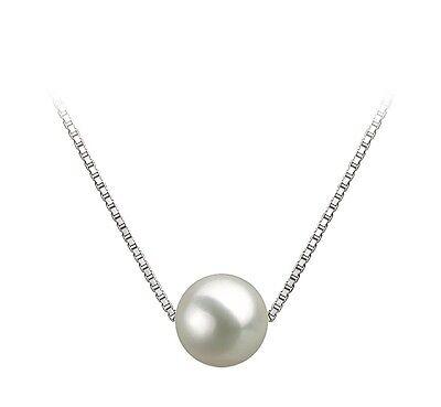 Akoya Pearl Pendant Necklace AAAA Japanese Akoya Pearl Necklace Pendant Women