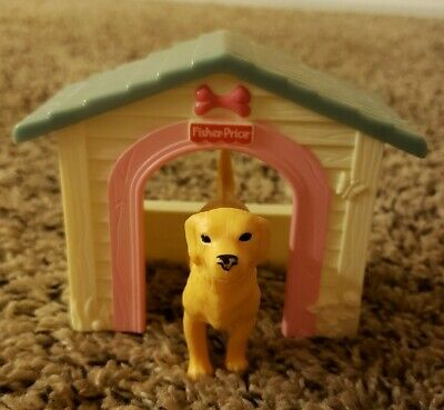 Loving Family Dog & Dollhouse Lot Fisher Price